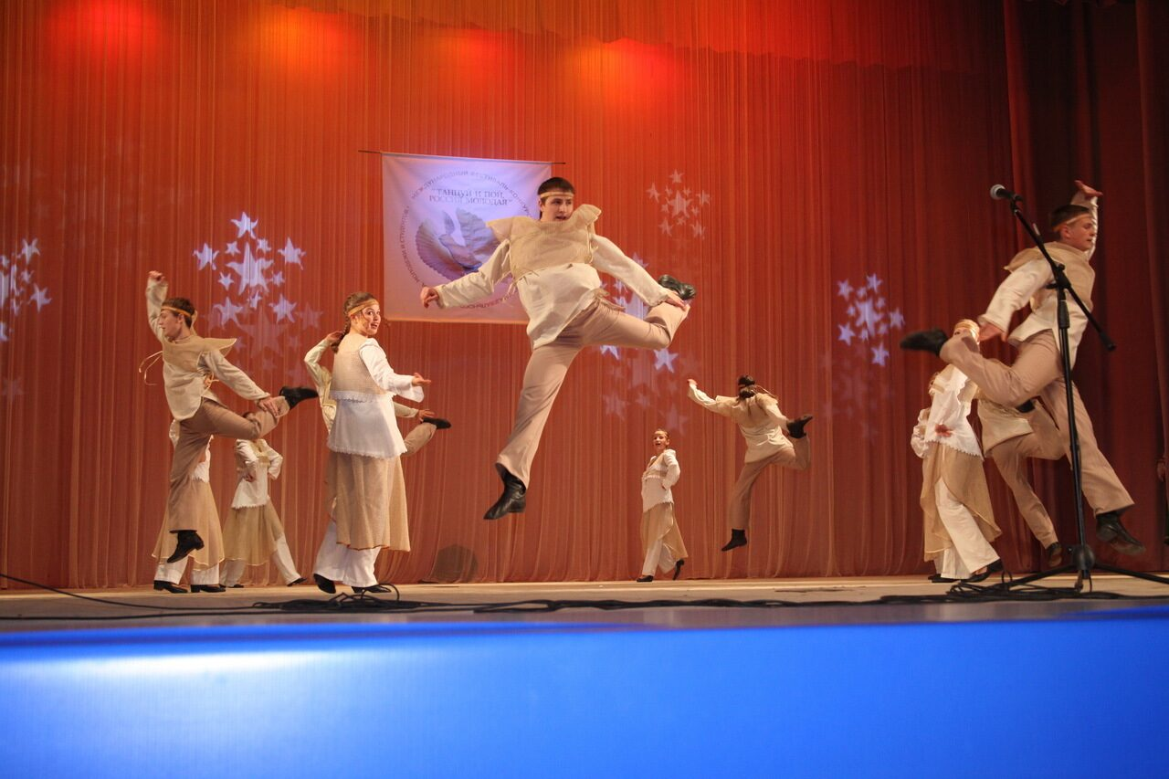 Россия конкурс танец